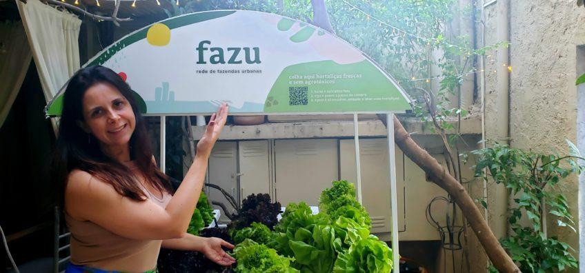 Horta do Vie Rose e a parceria com a Fazu
